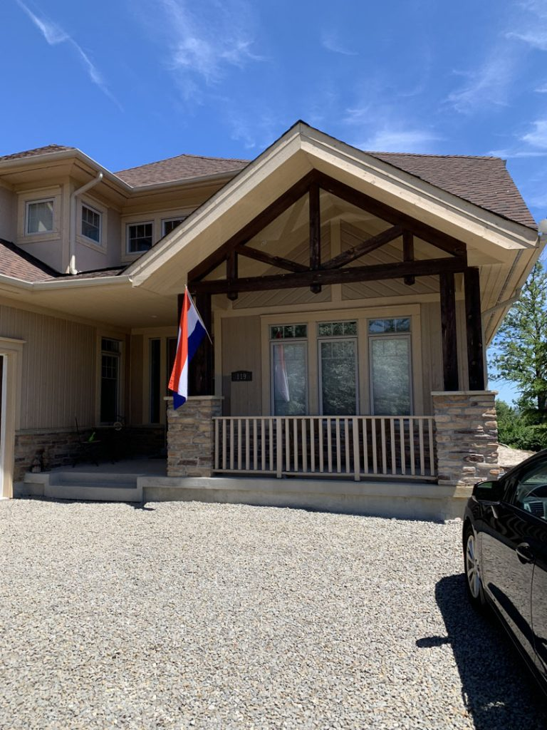 custom home Exterior Painting Thornhill