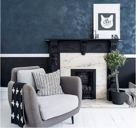 plaster luxury wall design