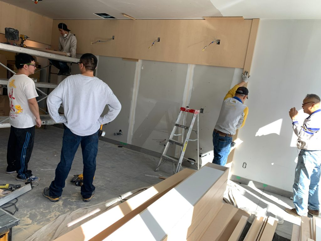 Basement Drywall Replacement by Prestige Painting GTA