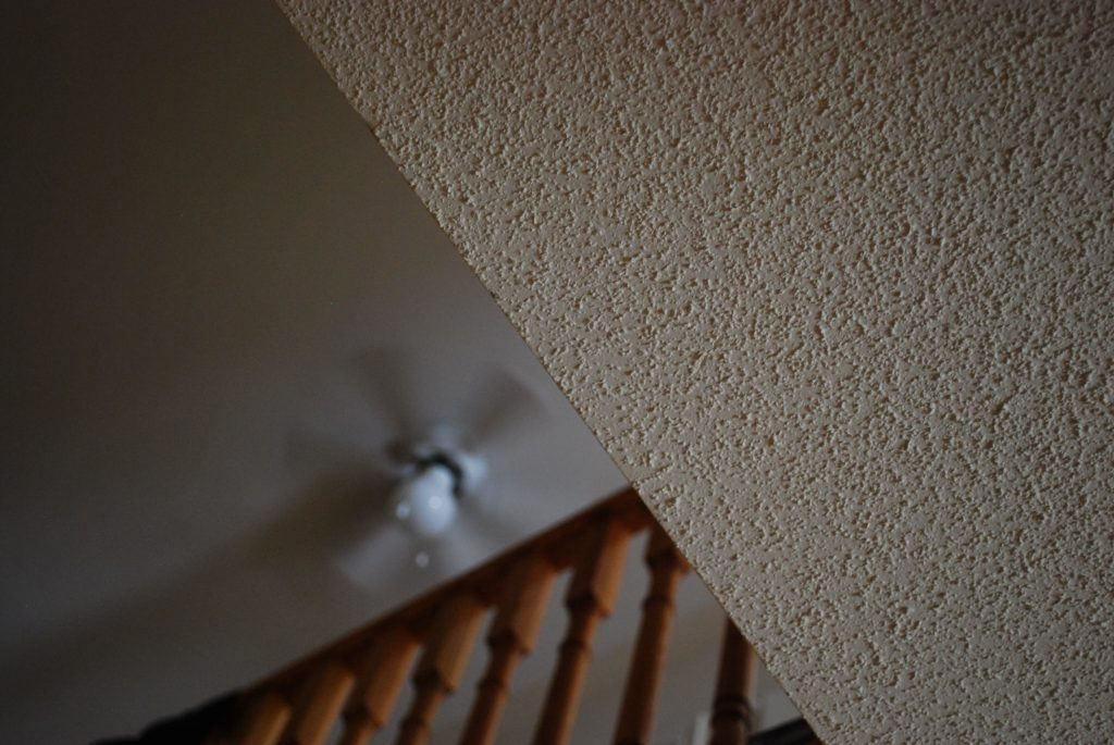 popcorn ceiling removal by prestige painting GTA