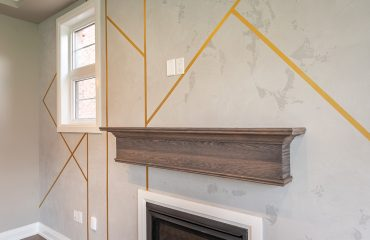 luxury wall design in family room by prestige painting