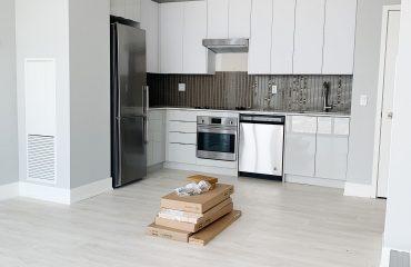 new condo kitchen interior painting