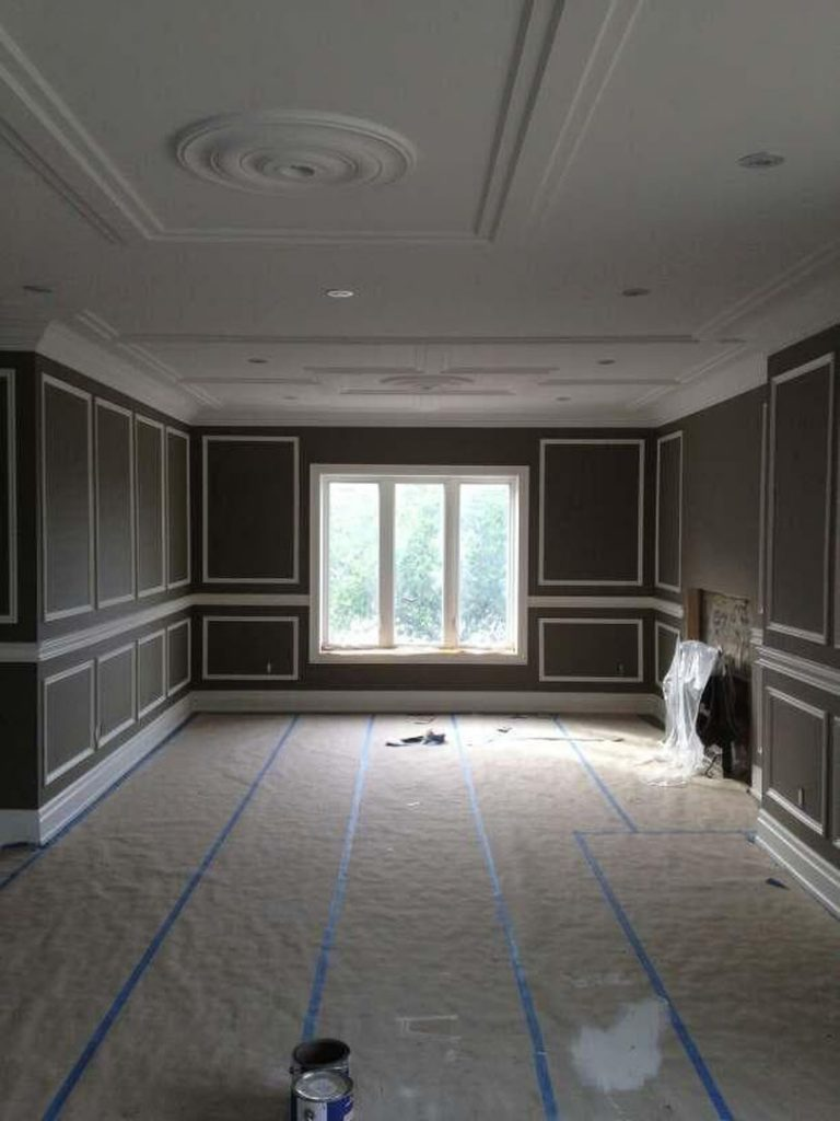 custom house painting in brown Markham