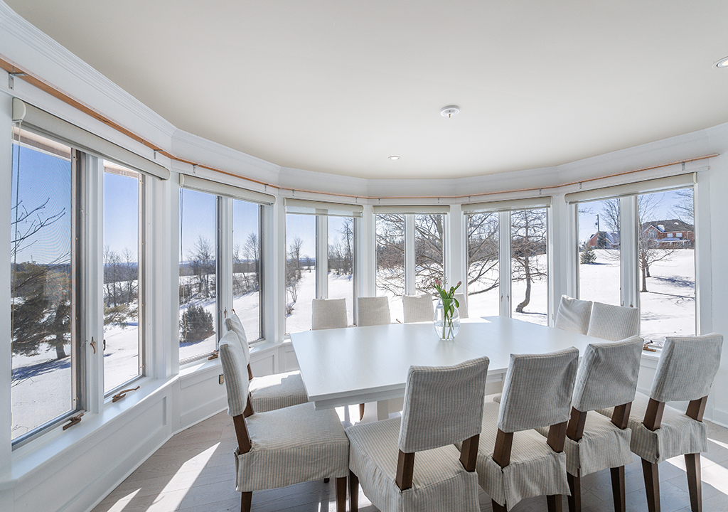 Custom Home with Amazing Interior Painting in The Dining Room Vaughan
