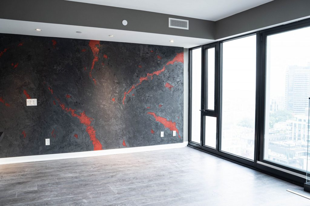 Amazing Luxury Wall Finish in Custom Condo Apartment Vaughan