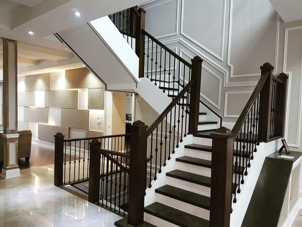 Amazing 3 D Wallpaper and Coffered Wall Decor - Luxury Wall Finish Richmond Hill