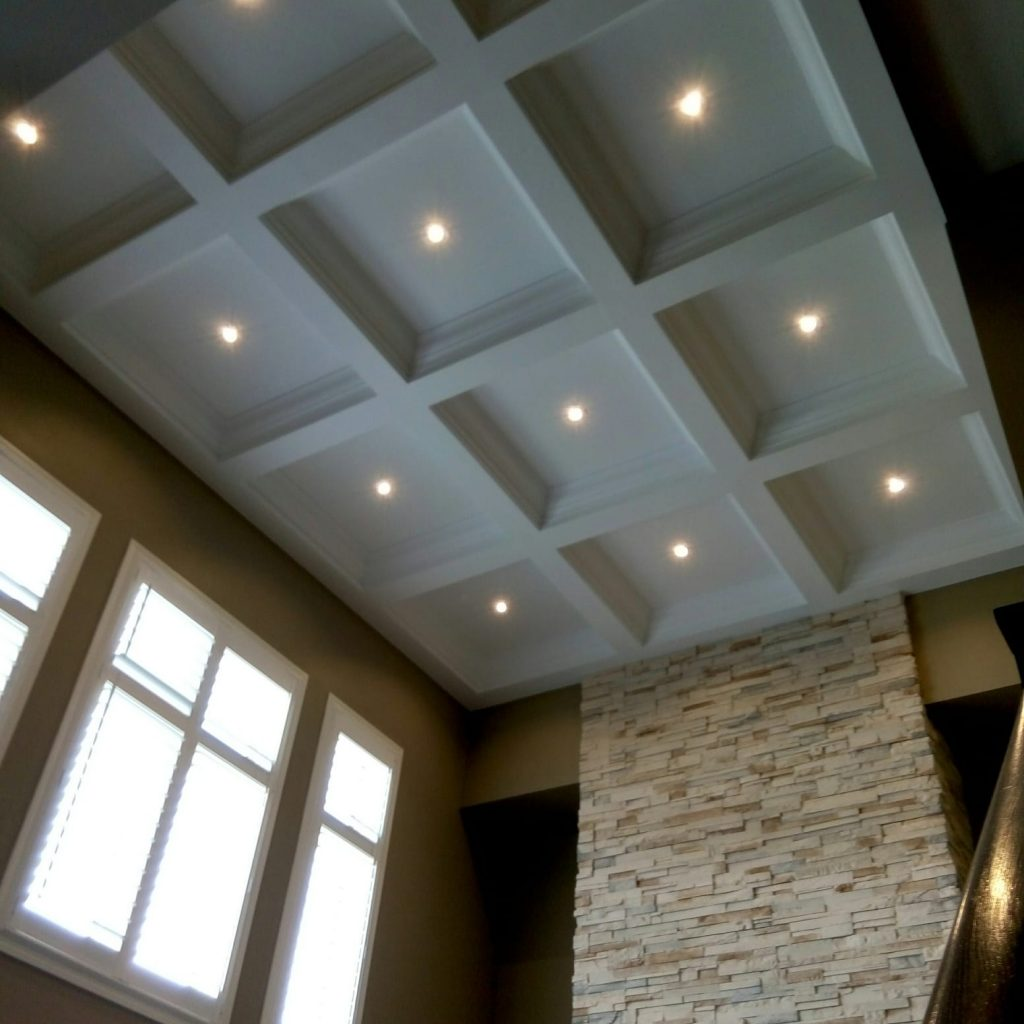 Coffered Ceiling by Prestige Painting GTA