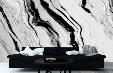 Luxury Wall Finish in The Living Room