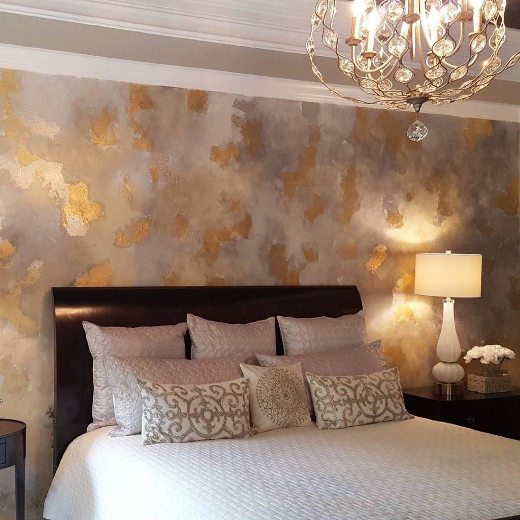 Bedroom Wallpaper Installation Project