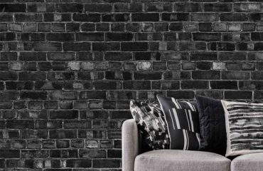 Luxury Brick Wallpaper Installation Project