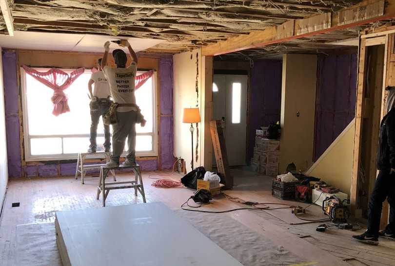 Drywall Installation Project by Prestige Painting